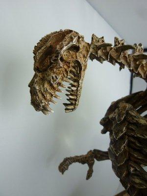 WF2016 竹谷隆之 哥吉拉 骨骼 骨架 GK 樹酯 完成品 雕像 非 sideshow shm x-plus