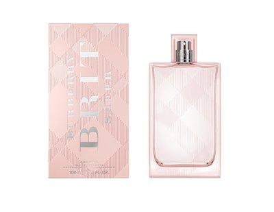岡山戀香水~BURBERRY Brit Sheer 粉紅風格女性淡香水100ml ~優惠價:1200元
