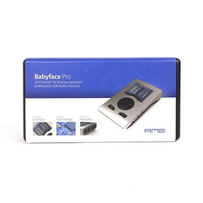格律樂器 RME Babyface PRO 專業錄音介面 USB 音效卡 Apogee duet