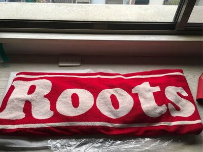 Roots海灘巾