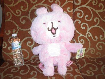 ///可愛娃娃///~正版授權卡娜赫拉小動物~兔子全身造型後背包~長柔毛後背包~有提把可掛---約50公分