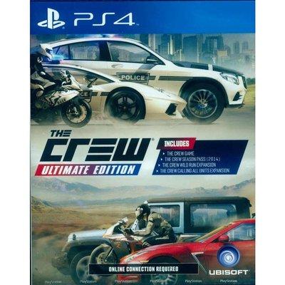 (現貨全新已開封) PS4 飆酷車神 終極版 英文亞版 THE CREW Ultimate Edition