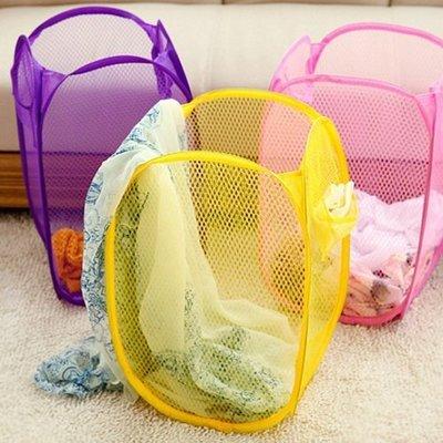 ❃ 彩虹小舖❃簡易 折疊 收納籃  收納箱 髒衣籃 玩具籃 置物箱 置物籃 收納籃 置物籃 【Z001】