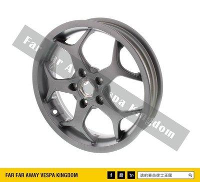 遠的要命偉士王國 Vespa PIAGGIO GTS/GTV 原廠 蜘蛛框 銀色 13吋 輪框