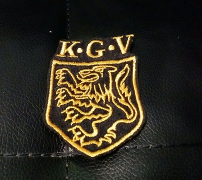 KGV  英皇佐治五世 國際 學校  校章 校徽  布章