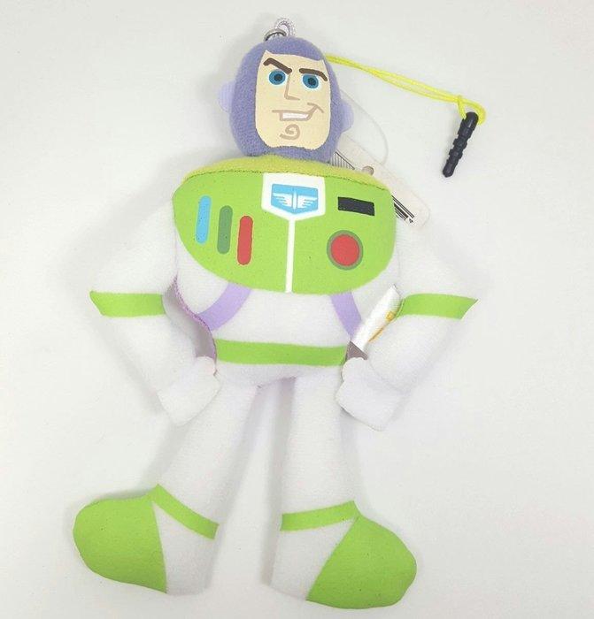 【UNIPRO】日貨 巴斯光年 BUZZ 太空人 3.5mm 手機 平板 絨毛防塵塞 娃娃 玩偶 布偶 吊飾 玩具總動員