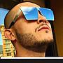 【紫色星球】偏光墨鏡 墨鏡 男女皆可戴 抗UV400 時尚方框【PD7828】太陽眼鏡 獨家打造 金屬方框 偏光太陽眼鏡