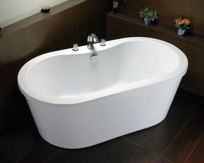 秋雲雅居~F1系列(180x101x68cm)獨立浴缸/古典浴缸/復古浴缸/泡澡浴缸/壓克力浴缸 放置即可泡澡免安裝!!