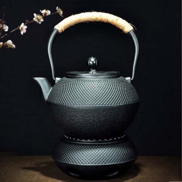 5Cgo【茗道】含稅會員有優惠   526877523471 茶道聖藏日本鑄鐵壺泡茶專用炭爐保溫加熱底座蜂窩功夫茶爐茶具