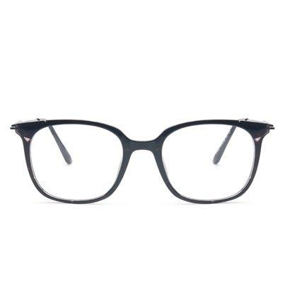 眼鏡 框 方框 鏡架-個性百搭時尚流行男女平光眼鏡5色73oe44[獨家進口][米蘭精品]