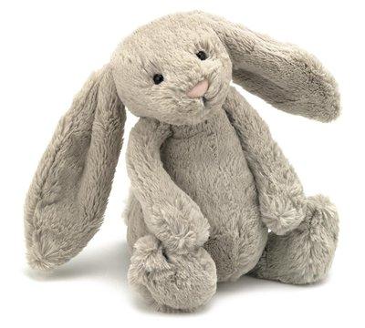 現貨 英國 JELLYCAT經典Beige 灰棕色邦尼兔 寶寶的第一個朋友 最精緻的絨毛玩偶 生日禮 新年禮