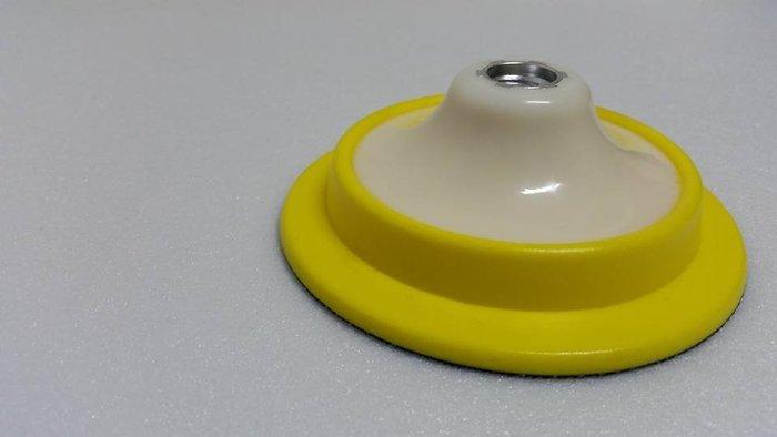 愛車美*~進口5吋雙層軟質橫壓Ro機背板 魔鬼氈黏扣盤 Q軟托盤M16牙 非LC 特價回饋