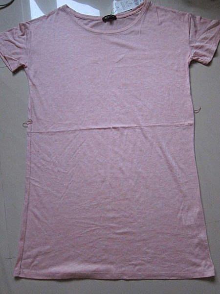 ~NET~ 粉紅色短袖洋裝~M