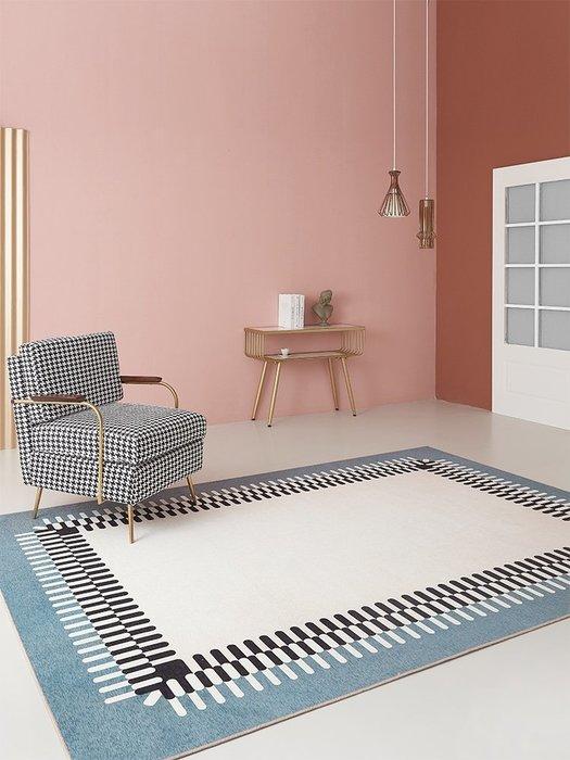 地墊 地毯 現代簡約客廳地毯 家用臥室門前床邊防滑腳墊門廳走廊沙發地墊