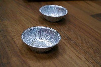 5324圓鋁_7.8xH2.4cm(底徑5cm)_100入一組_5324◎5324.圓形.鋁箔.圓鋁.甜點.點心.模具 台南市