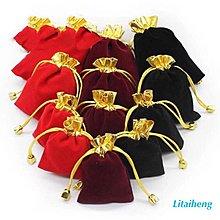 絨布袋 手鐲袋 項鍊袋 飾品袋 玉石袋 手鍊袋 手珠袋 珠寶袋 1個6元 尺寸7x9cm 只供應紅色
