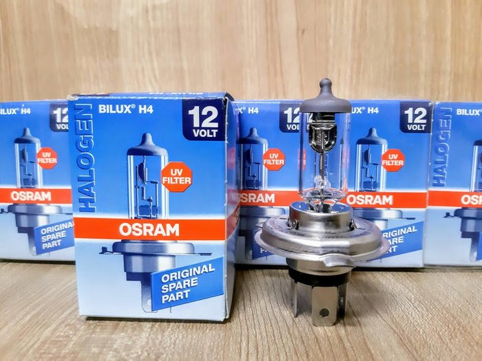 (C+西加小站) OSRAM  H4 12V 車燈燈泡 55W 大燈燈泡 霧燈燈泡 德國OSRAM