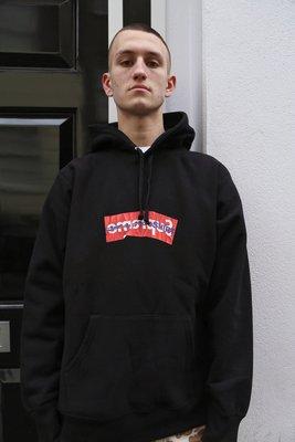 Supreme Comme des Garçons SHIRT Box Logo Hooded Sweatshirt