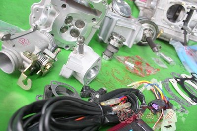 MANY/VJR/LKC/LEA改58.5~63缸100~270條曲軸+小改缸頭+高凸+油冷+進氣系統141~169cc