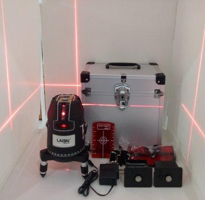 【宏盛測量儀器】萊賽LAISAI LS630T-20 墨線儀 4V4H 電子式五倍紅光鋰乾兩用