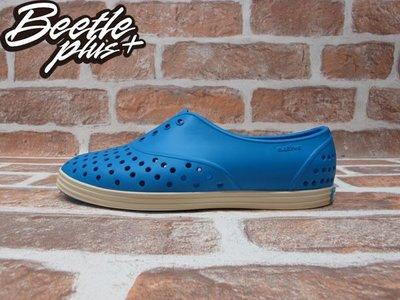 女鞋 BEETLE NATIVE JERICHO GALAXY BLUE 蠟筆 藍 奶油底 GLM04W-402 W8