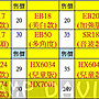 HX6074 ×12 + HX6064 ×12 + 藍弦 N2 白色×1