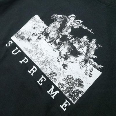 Supreme 19SS Riders 騎士 短袖 Ttee