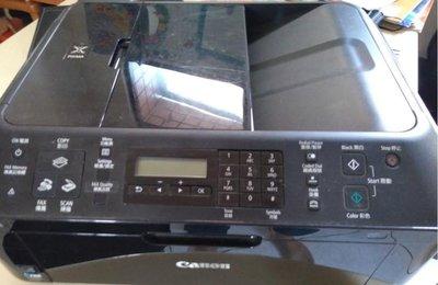 二手 CANON MX416 無墨匣 使用 810 811 墨水匣