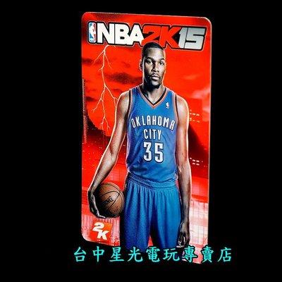 【特典收藏卡】☆ NBA 2K15 凱文杜蘭特 Kevin Durant 球員卡 ☆【空卡不含遊戲軟體】台中星光電玩 台中市