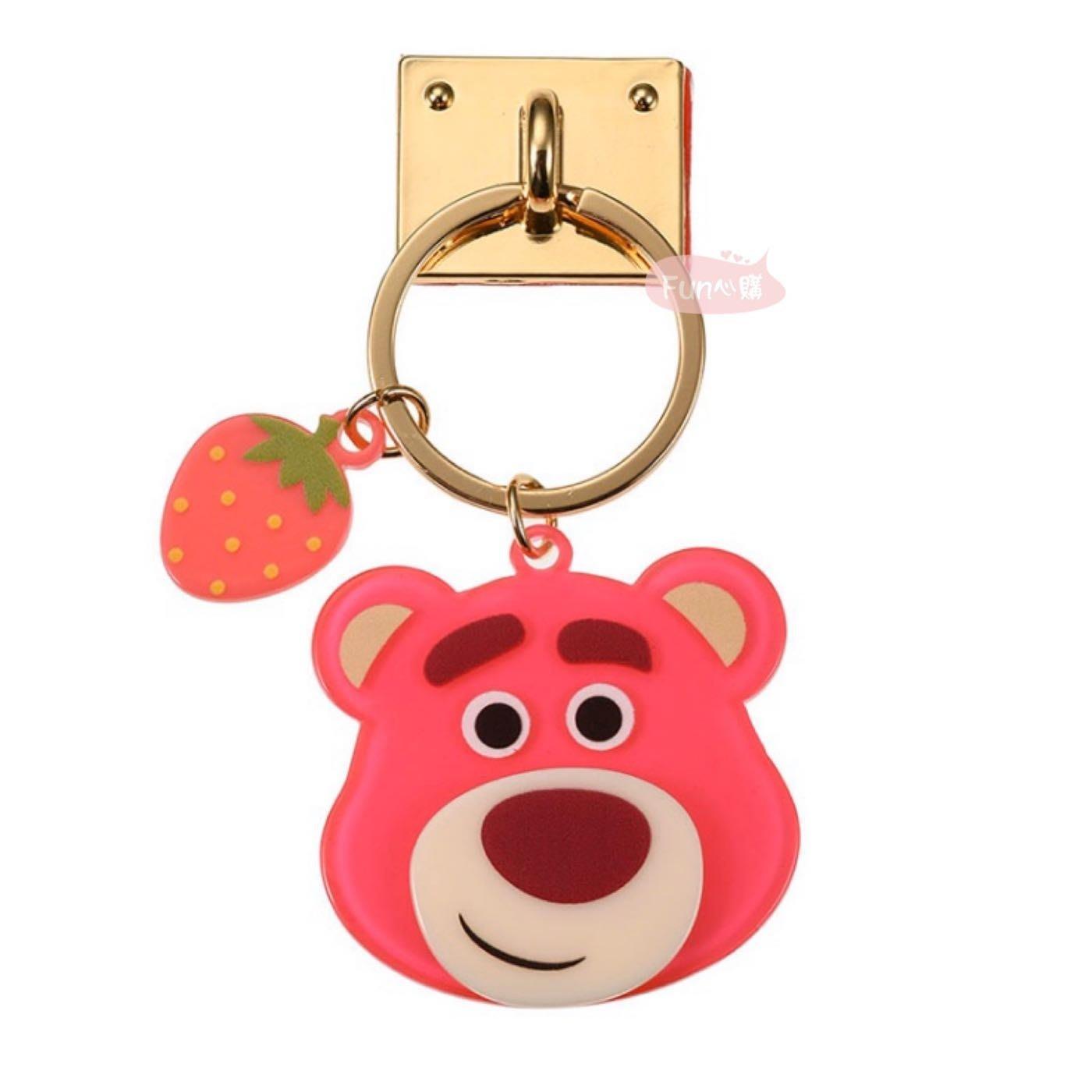 日本迪士尼 玩具總動員 熊抱哥 手機扣環。現貨【Fun心購】
