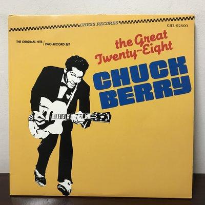 晨雨黑膠【西洋】※搖滾500大第21名※美版/Chuck Berry–The Great Twenty-Eight/2片