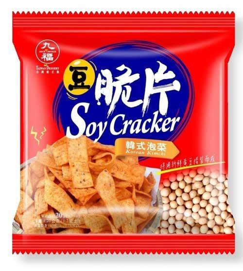 3 號味蕾 量販價~九福豆脆片1800G(日式醬燒、法式起士、韓式泡菜)量販價280元