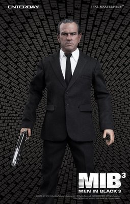 (中古) ENTERBAY 1/6 MIB Men In Black 黑超待警組3 Agent K 1/6 Action Figures
