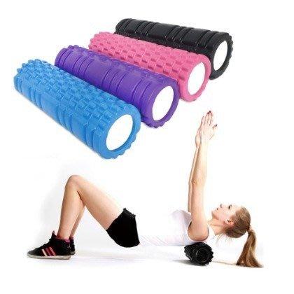宙斯健身網-瑜珈用品-現貨 瑜珈柱 EVA材質 瑜珈按摩滾輪