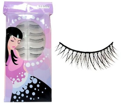【零秘密】S1009 手工假睫毛 10對入 交叉纖長濃密電眼迷人放大 eyelash 另有其他美妝用品