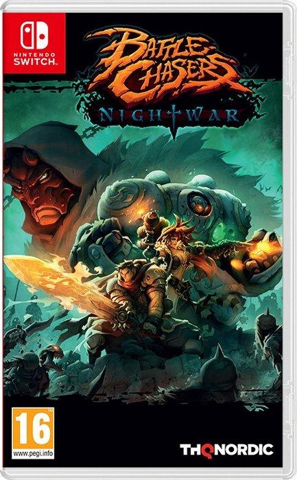 全新未拆 NS 戰神 追逐戰 夜戰 -中文版- Battle Chasers Nightwar Switch