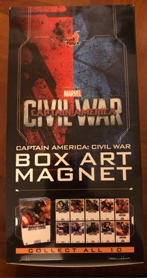 Hottoys civil war box art magnet