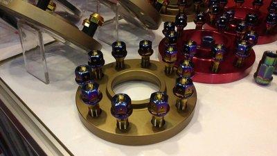 正64鈦 鈦合金鋁圈螺絲 螺母 非鍍鈦 BMW BENZ 日系 歐系 高強度 輕量化
