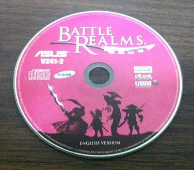 PC GAME:BATTLE REALMS狼之冬/2手