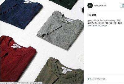 免運 REPUTATION RPTN 電繡Logo素TEE jordan 1 OG 12 11 adidas nmd