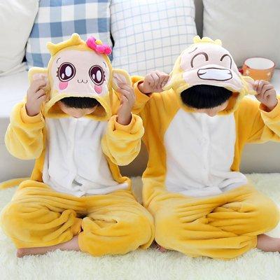 艾莉小舖~春冬加厚卡通動物連身睡衣~如廁版~小孩兒童 女小猴~cosplay角色扮演禮物~滿千免運