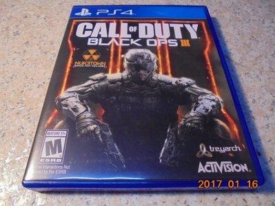 PS4 決勝時刻-黑色行動3 Call of Duty: Black Ops III 中文版 直購價800元 桃園《蝦米