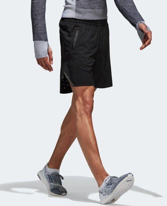 【豬豬老闆】ADIDAS ULT RGY SHORT M 黑 防潑水 反光 口袋拉鍊 短褲 男款 BK7356