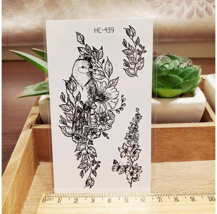 【萌古屋】黑色小圖騰 - 男女防水紋身貼紙刺青貼紙HC-439