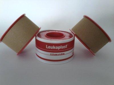 Leukoplast德國透氣防水透氣膠帶2.5cm*4.6m