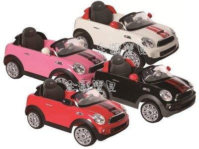 @企鵝寶貝@運動版新款 Mini Coopers COUPE 兒童電動車~經典遙控電動車 ( 好禮 5 選1 )