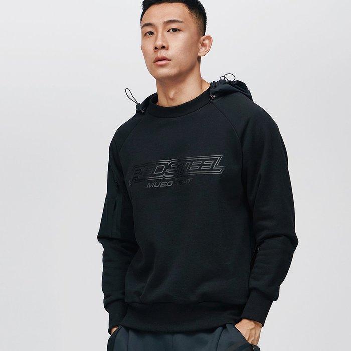 【OTOKO Men's Boutique】固制:可拆卸帶帽衛衣(台灣獨家代理)