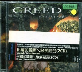 *還有唱片行* CREED / WEATHERED 二手 Y7888