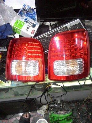 日產 MARCH K11 93 94-07 馬曲 5D 晶鑽紅白 LED 尾燈 正廠 尾燈 左右邊一對共2個1500元