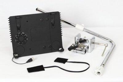 [極致工坊] 變形 平板 固定架 散熱 支架 立架 固定架 桌邊 支援 IPAD 筆電 IPAD2